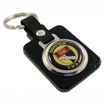 Keyfob Blank Rectangle 25mm and printed dome